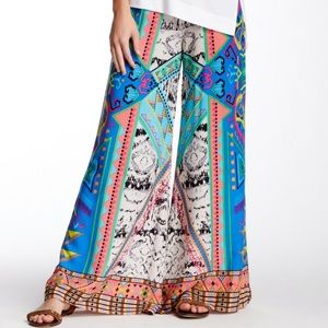 NEW Flying Tomato Printed Palazzo Pant Sz M
